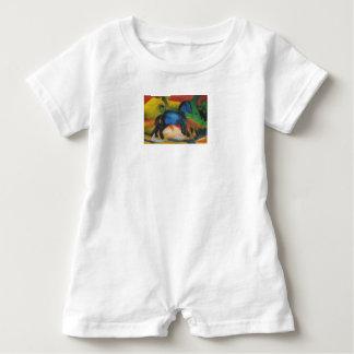 Barboteuse Vêtements de bébé de Franz Marc de bébé de projet