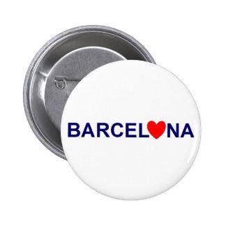 Barcelona love badge