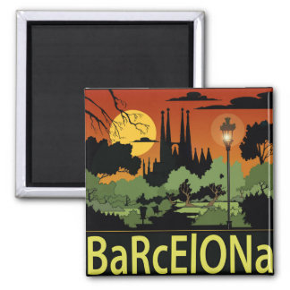Barcelone. aimant