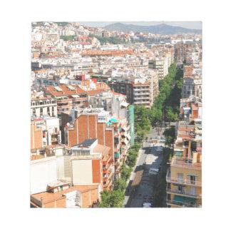 Barcelone Bloc-note