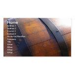 Baril de vin modèles de cartes de visite