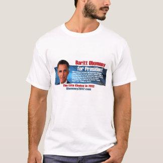 Baritt Obomney pour le T-shirt de président 2012