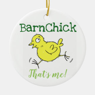 BarnChick qui est moi ! Ornement de Noël