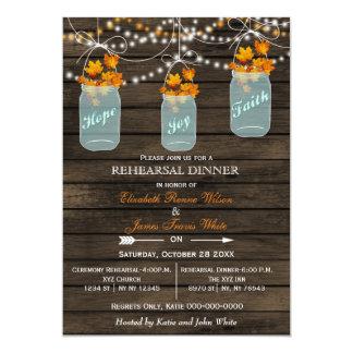 Barnwood, invitations de dîner de répétition