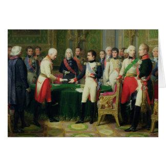 Baron de réception Vincent du napoléon I Carte De Vœux