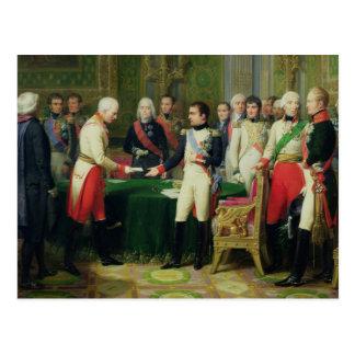 Baron de réception Vincent du napoléon I Carte Postale