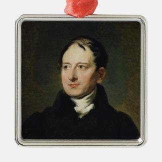Baron Francois Pascal Simon Gerard Ornement Carré Argenté