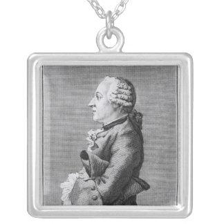 Baron Friedrich Melchior Grimm Pendentif Carré