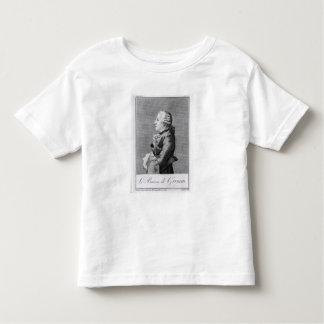 Baron Friedrich Melchior Grimm T-shirt Pour Les Tous Petits