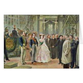 Baron Georges-Eugene Haussmann Carte De Vœux