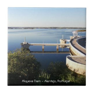 Barrage d'Alqueva - l'Alentejo, Portugal Petit Carreau Carré