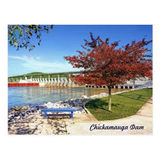 Barrage de Chickamauga - Chattanooga, Tennessee, Carte Postale