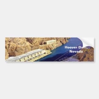 Barrage de Hoover, adhésif pour pare-chocs du Neva Autocollant De Voiture
