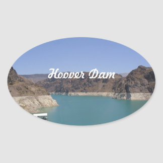 Barrage de Hoover Stickers Ovales
