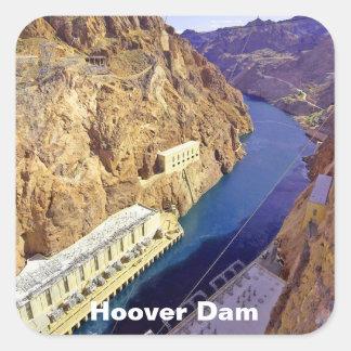 Barrage de Hoover en Arizona Sticker Carré
