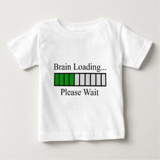 Barre de chargement de cerveau t-shirts