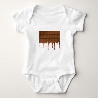 Barre de chocolat fondue body