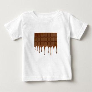 Barre de chocolat fondue t-shirt pour bébé
