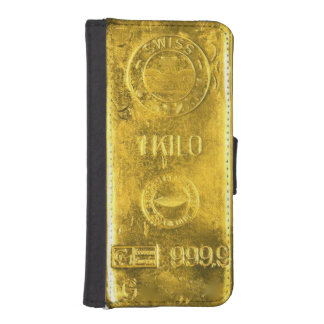 Barre de coque iphone d'or
