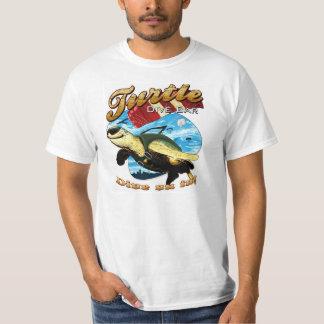 Barre de piqué de tortue t-shirts