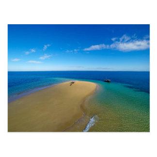 Barre de sable et île d'Ibos du dhaw |, Mozambique Carte Postale