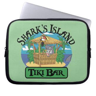 Barre de Tiki de l'île du requin Trousse Pour Ordinateur Portable