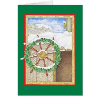 Barre de vacances carte de vœux