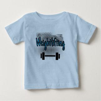 Barre d'haltérophilie t-shirt pour bébé