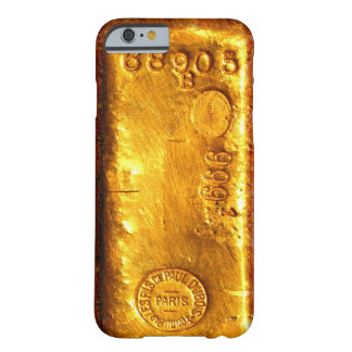 Barre d'or coque iPhone 6 barely there