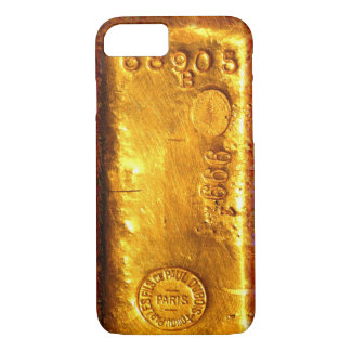 Barre d'or coque iPhone 7