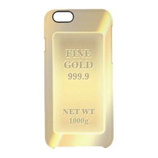 Barre d'or fine brillante de brique d'or de l'or