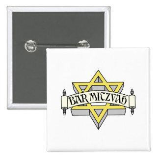 Barre Mitzvah Badges Avec Agrafe