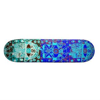 """Barre Mitzvah """"don de planche à roulettes"""" : Hamsa Skateboards Personnalisés"""