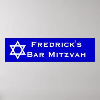 Barre Mitzvah Affiches