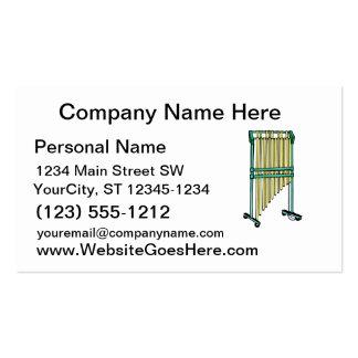 Barrez les carillons, carillons orchestraux, la carte de visite standard