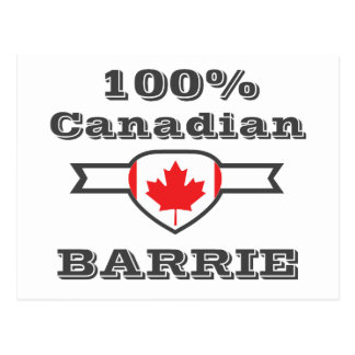 Barrie 100% carte postale