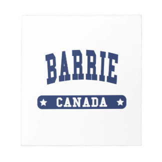 Barrie Bloc-note