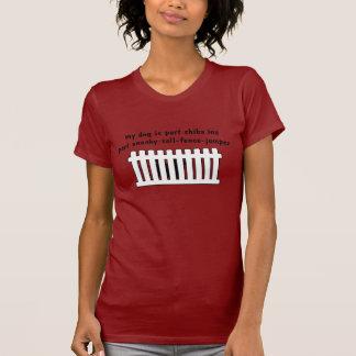Barrière-Pullover de pièce de Shiba Inu de partie T-shirt