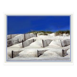 Barrières de sable cartes postales