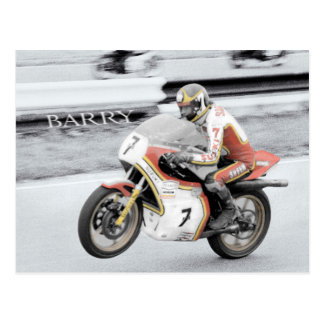Barry Sheene Carte Postale
