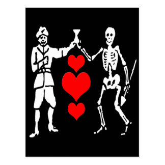 Bart Roberts #2-Hearts Carte Postale