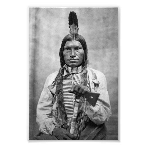 Bas chien - photo de cru de Natif américain