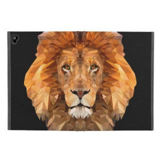 Bas poly coque ipad de lion