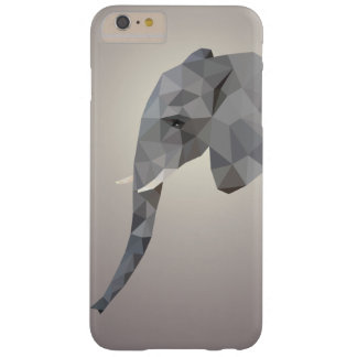 Bas poly coque iphone de l'industrie graphique coque barely there iPhone 6 plus