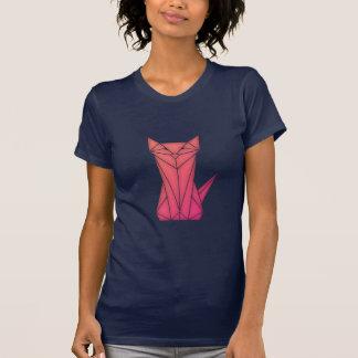 Bas-poly T-shirt de silhouette de chat