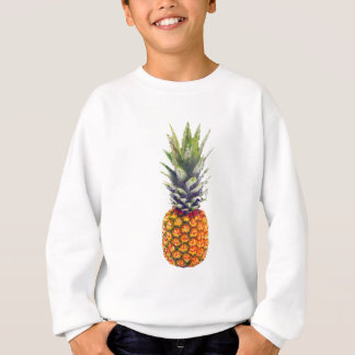 Bas-Poly triangulé d'ananas Sweatshirt