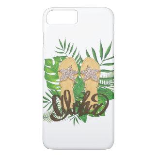 Bascule électronique hawaïenne tropicale Aloha Coque iPhone 7 Plus