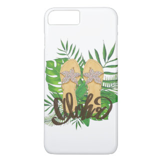 Bascule électronique hawaïenne tropicale Aloha Coque iPhone 8 Plus/7 Plus