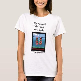 Bascules électroniques de BUTIN - les pantoufles T-shirt