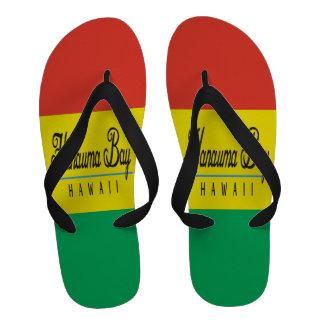 Bascules électroniques de reggae d Hawaï de baie d Tongs